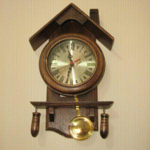 RCA-01 Relógio Madeira